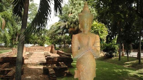 statue in garden in Chiang Mai