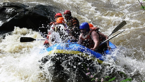 Rafting on river in Chiang Mai