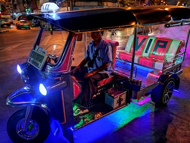 Midnight Tuk Tuk Food Tour in Bangkok