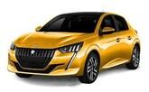 Peugeot 208 1.0, Toyota Yaris 1.0, Citroen C3 1.2, Renault Clio 1.0