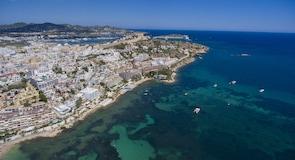 Stadscentrum van Ibiza