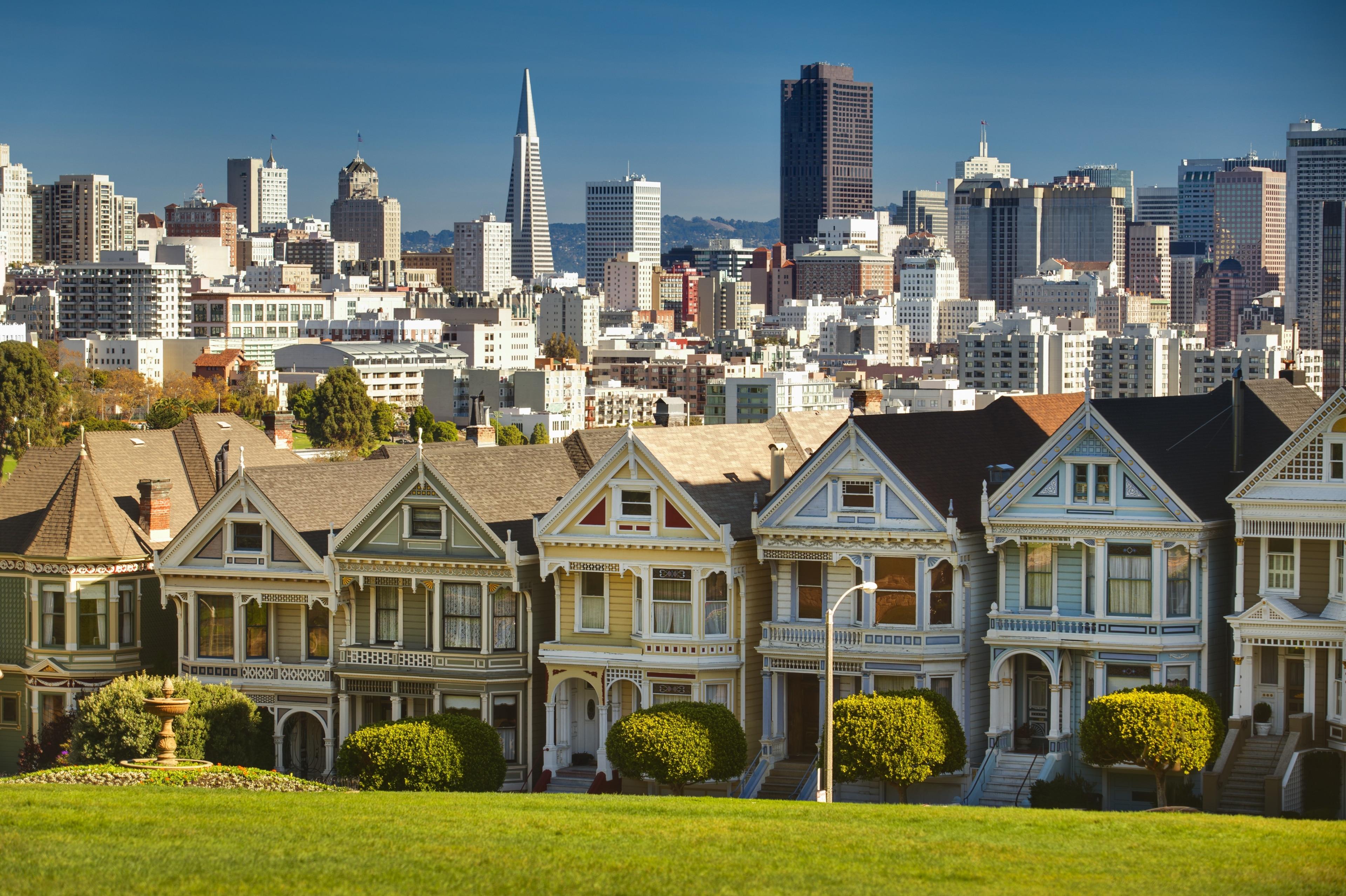 Lower Pacific Heights, San Francisco, Californië, Verenigde Staten