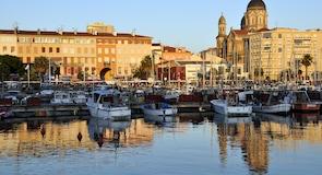 Stadtzentrum von Sainte-Maxime
