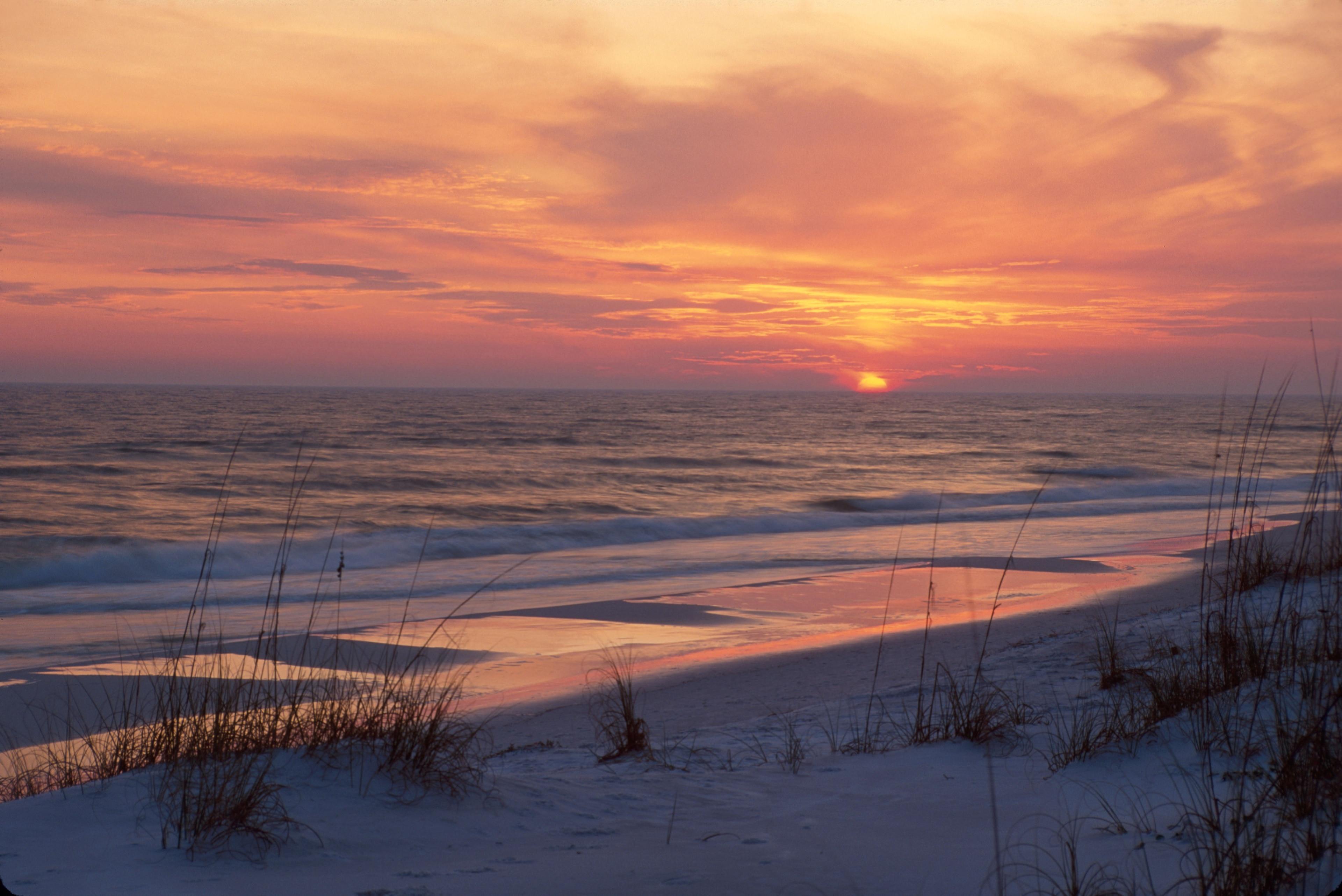 Topsail Beach State Preserve, Santa Rosa Beach, Florida, Verenigde Staten