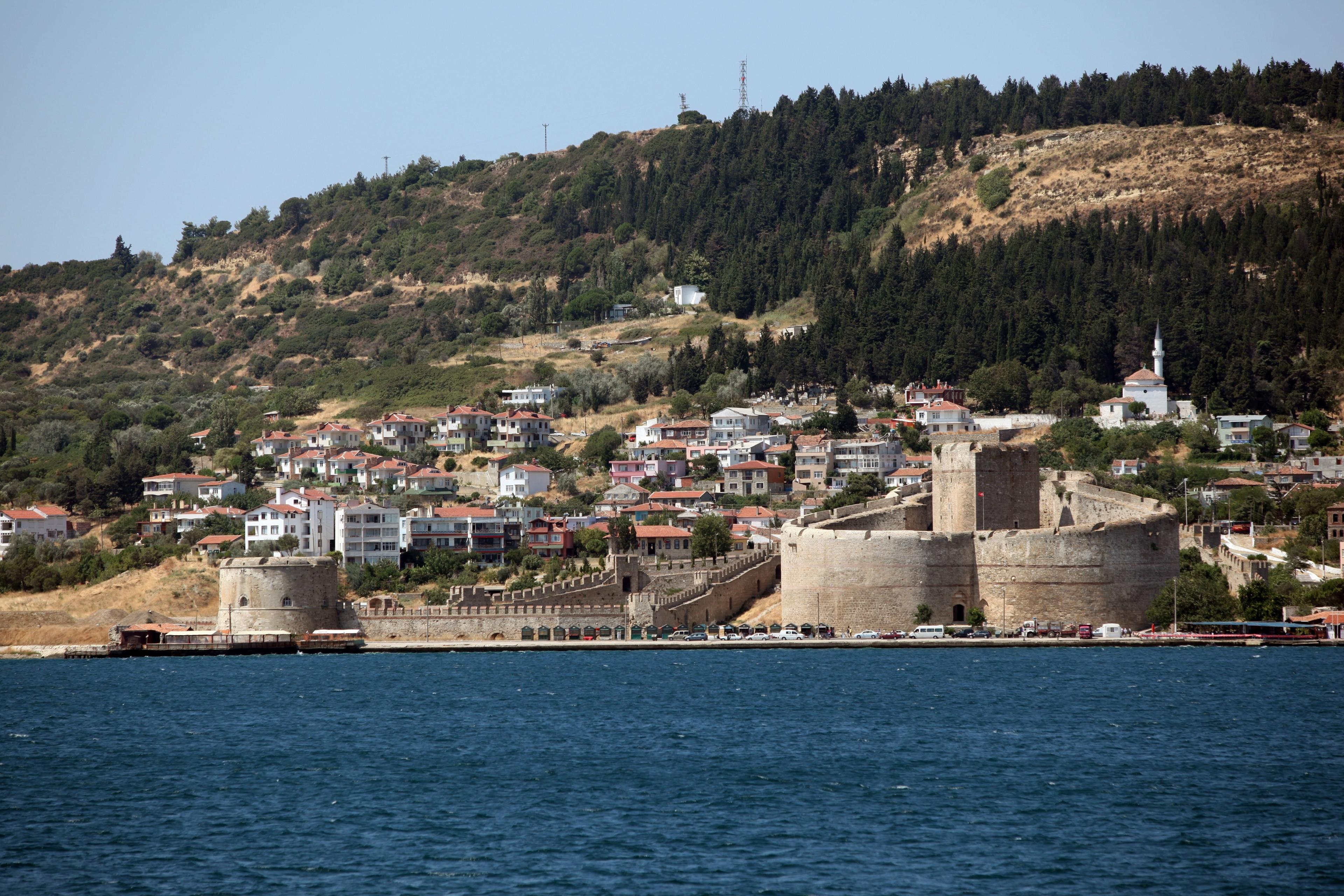 Burg von Kilitbahir, Eceabat, Canakkale, Türkei