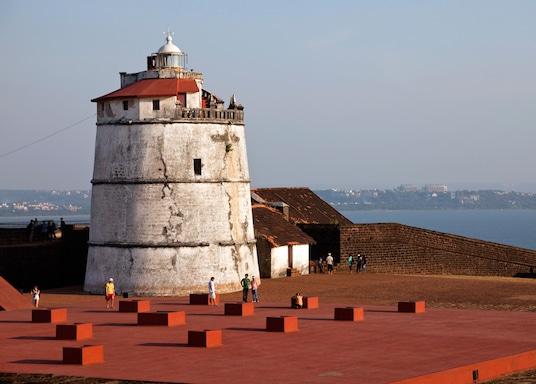 Aguada Fort vidék, India