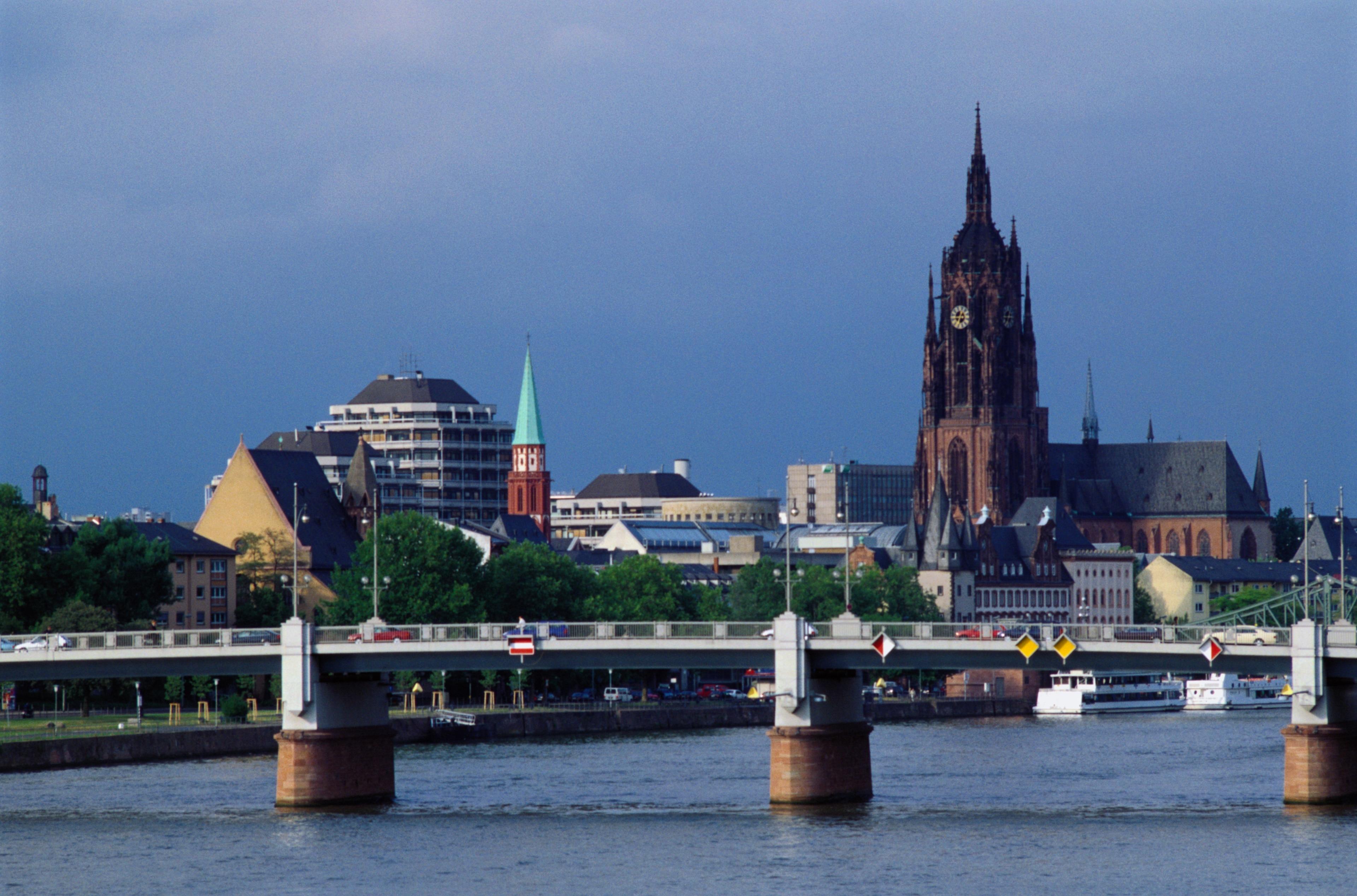 Skyline Plaza, Frankfurt, Hessen, Deutschland