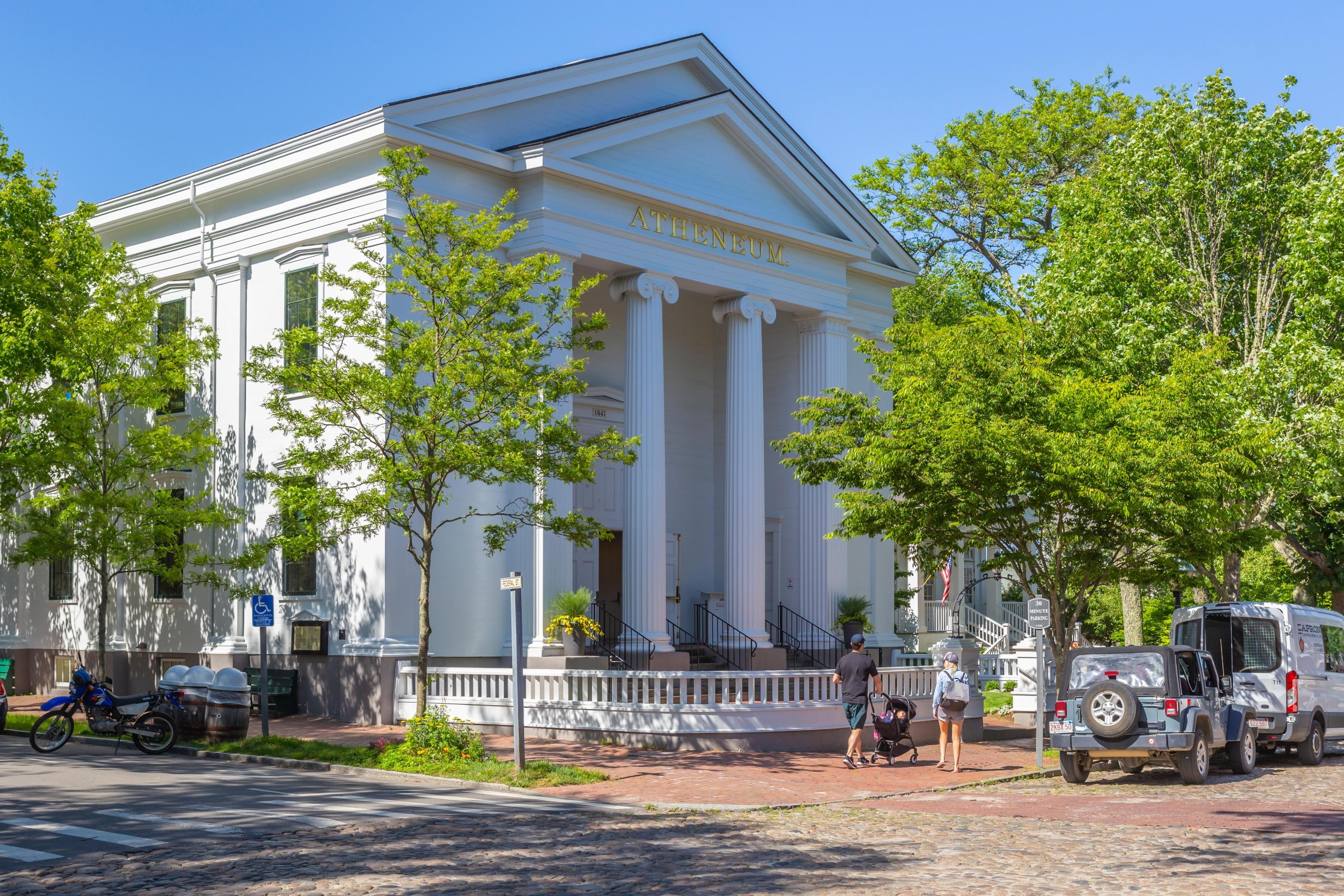Nantucket Atheneum, Nantucket, Massachusetts, Verenigde Staten