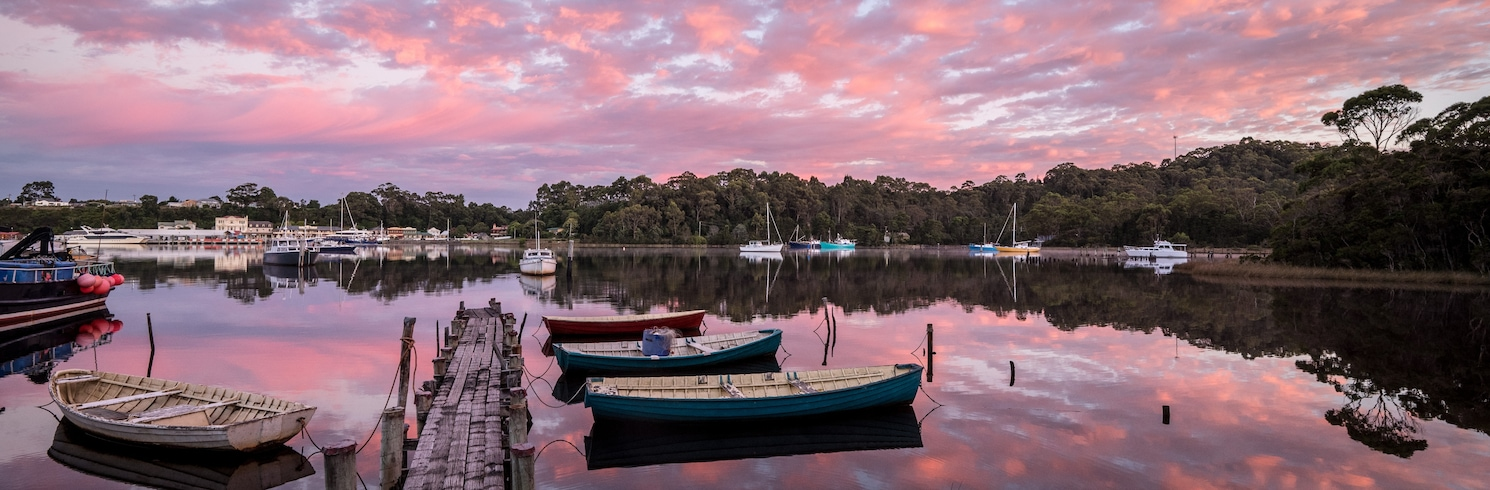 Strahan, Tasmánie, Austrálie