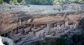 Вход в национальный парк Mesa Verde