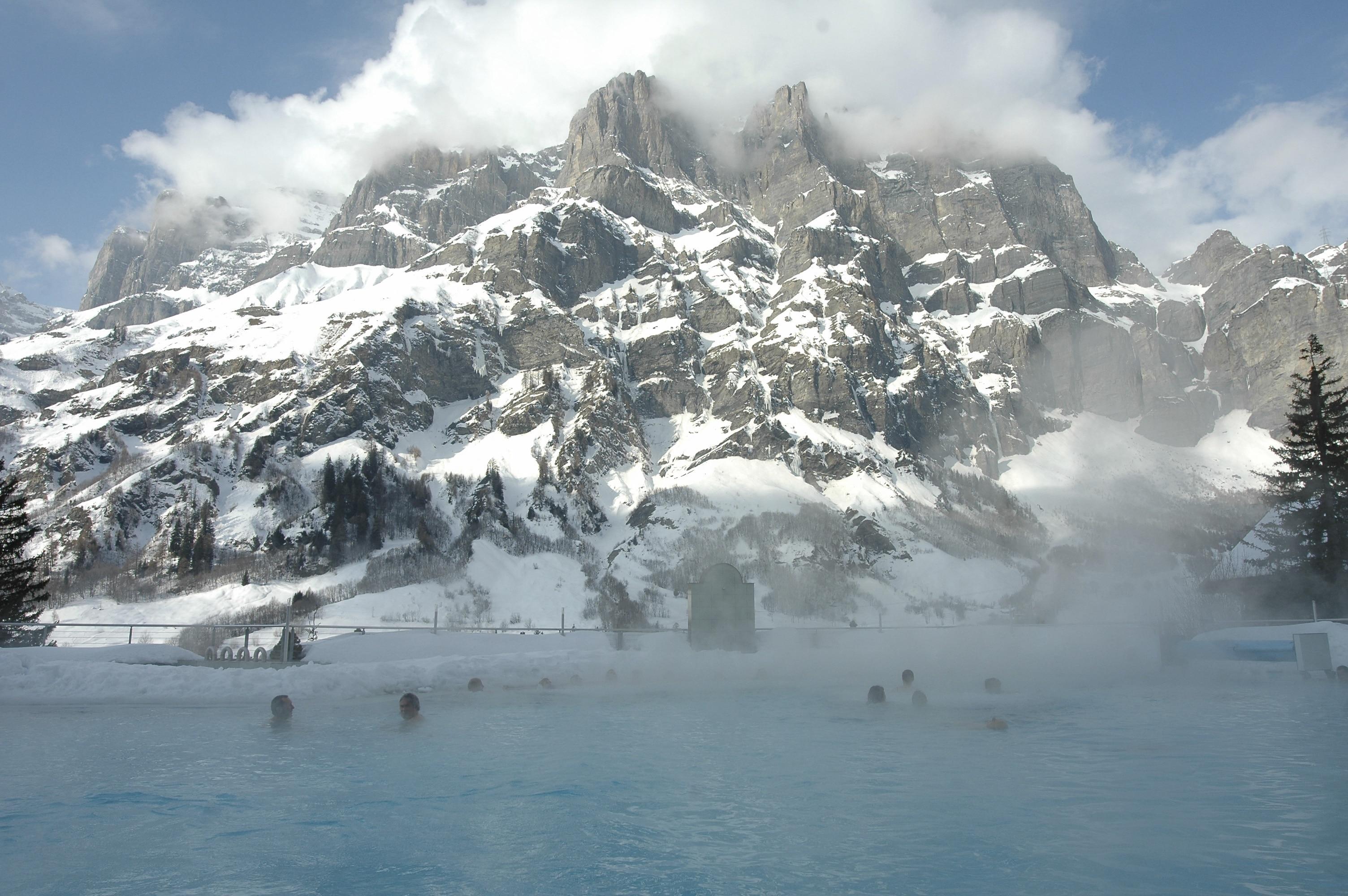 Leukerbad, Valais, Switzerland