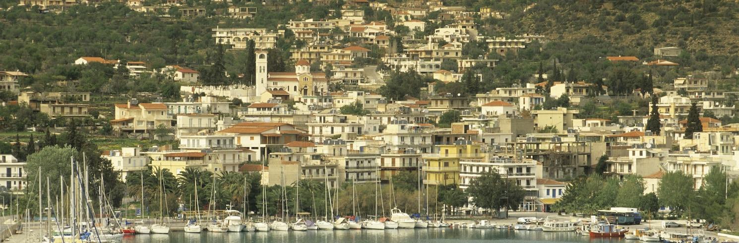 Centre d'Hersonissos, Grèce