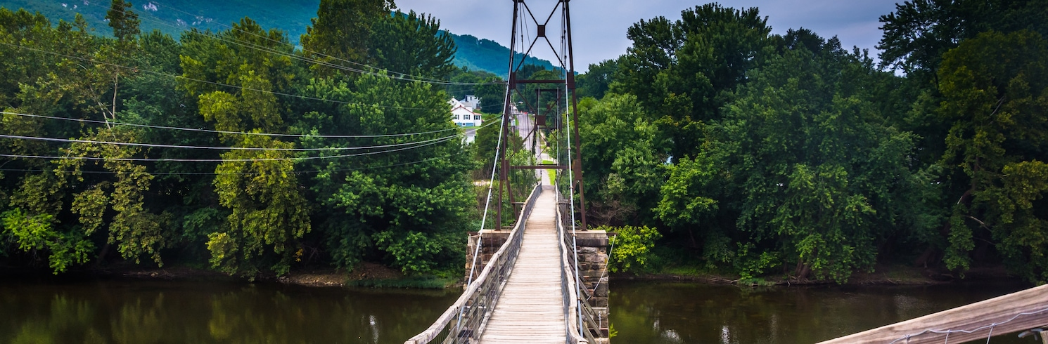 Peaks, Virginie, USA