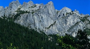 Парк шатата Калифорния «Касл-Крагс»