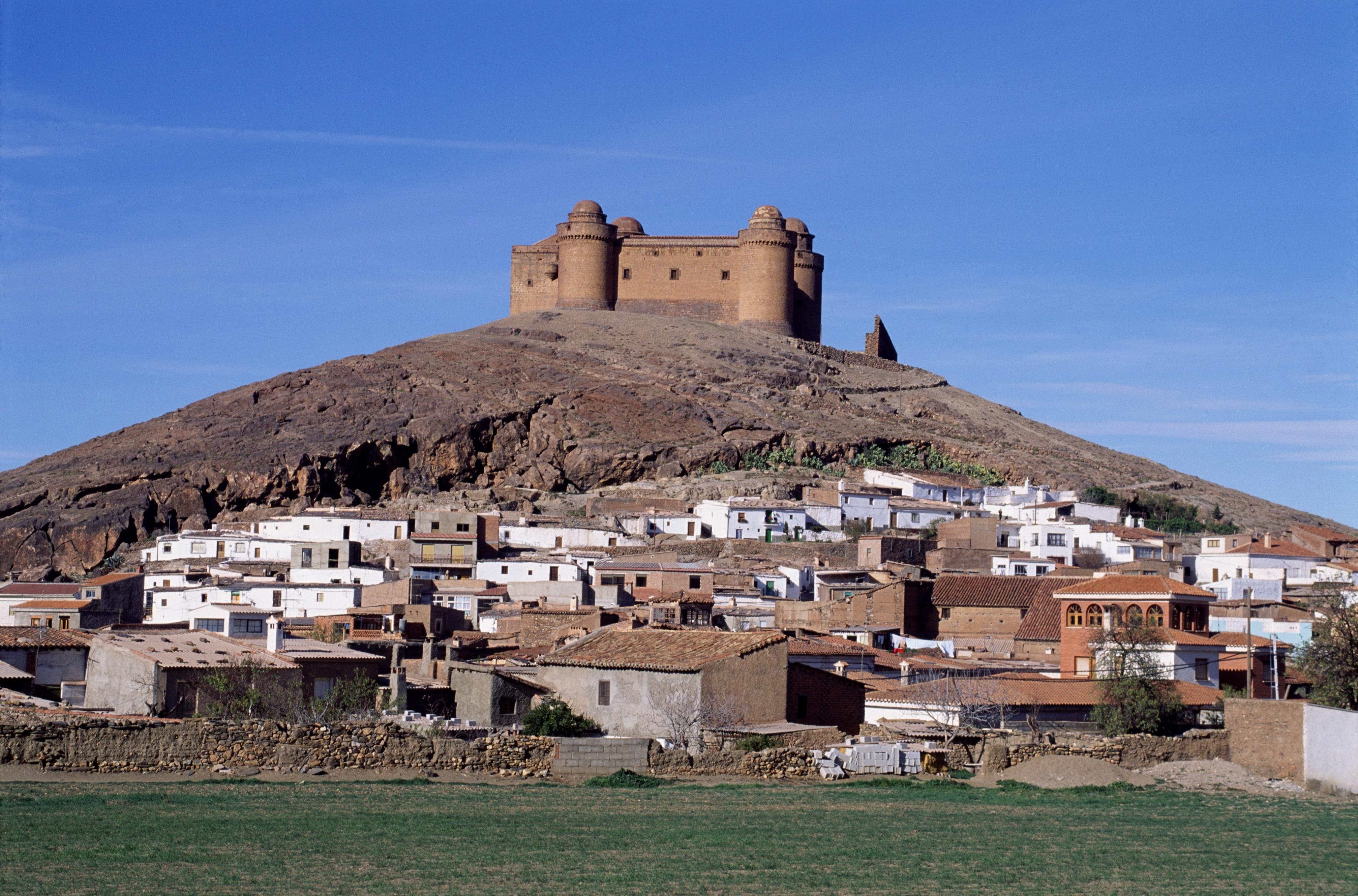La Calahorra Castle, La Calahorra, Andalusia, Spain