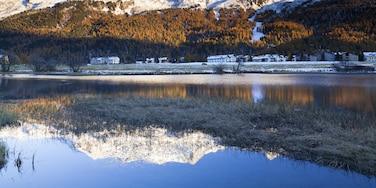 Sils im Engadin/Segl, Graubünden, Schweiz