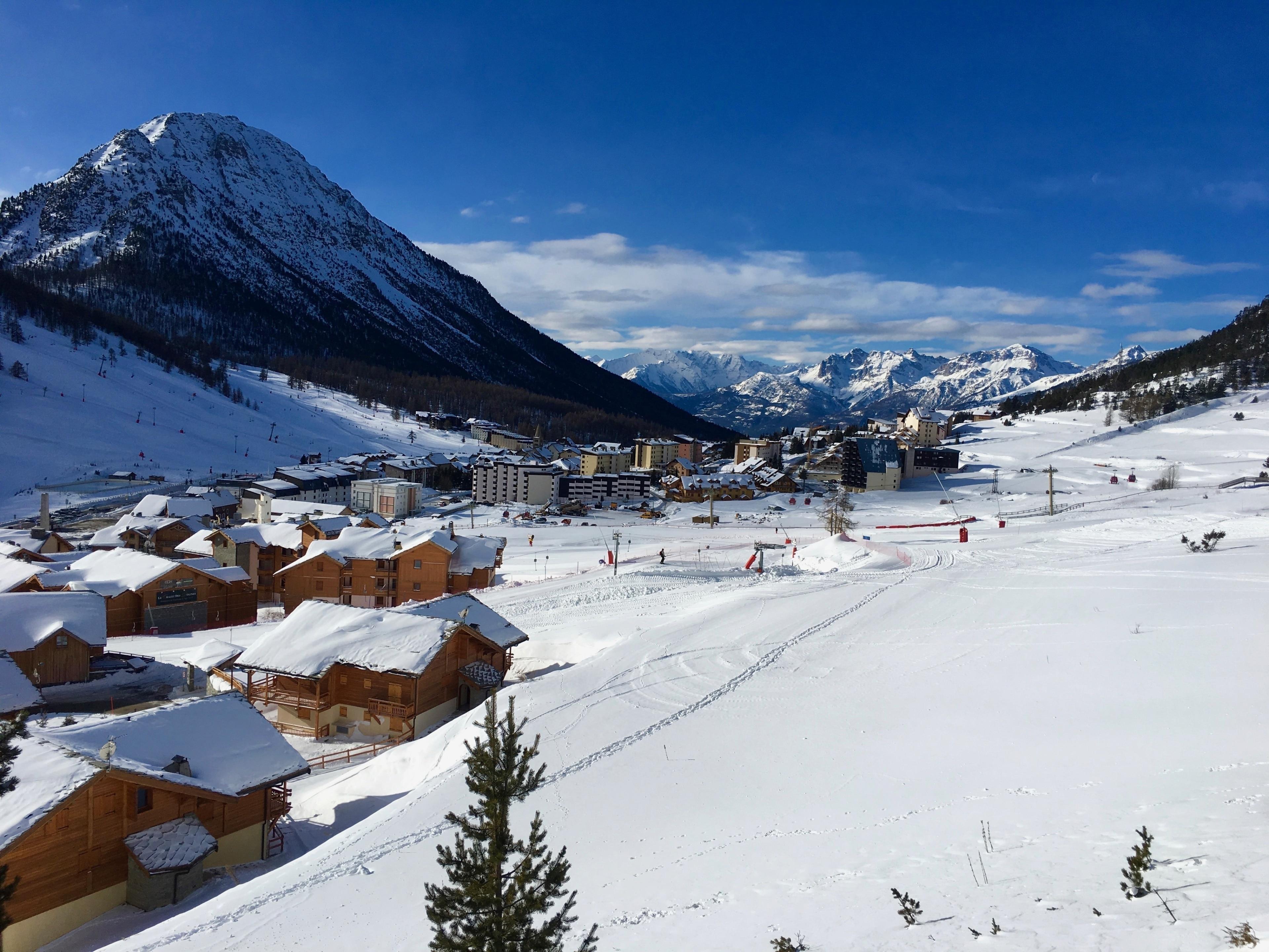 Montgenèvre, Hautes-Alpes, Frankreich