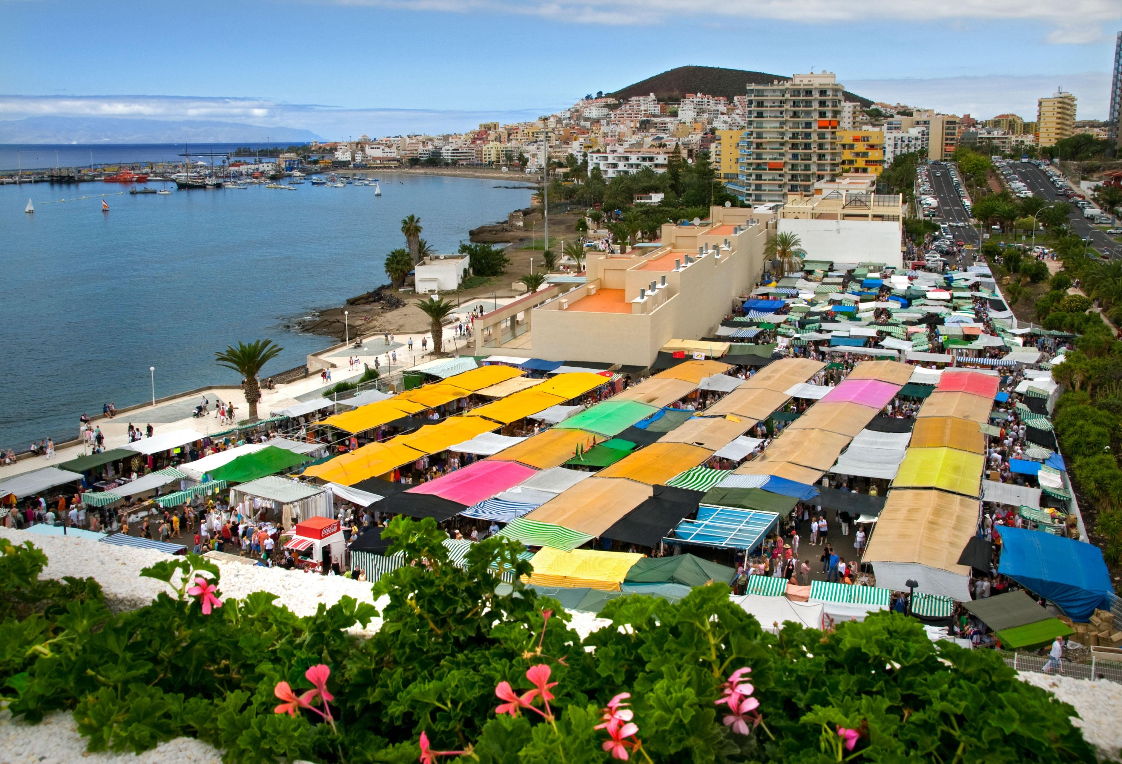 Los Cristianos Beach, Arona, Canary Islands, Spain