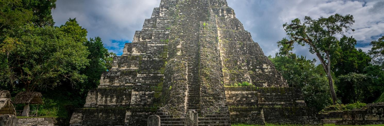 Tikal-þjóðgarðurinn, Gvatemala