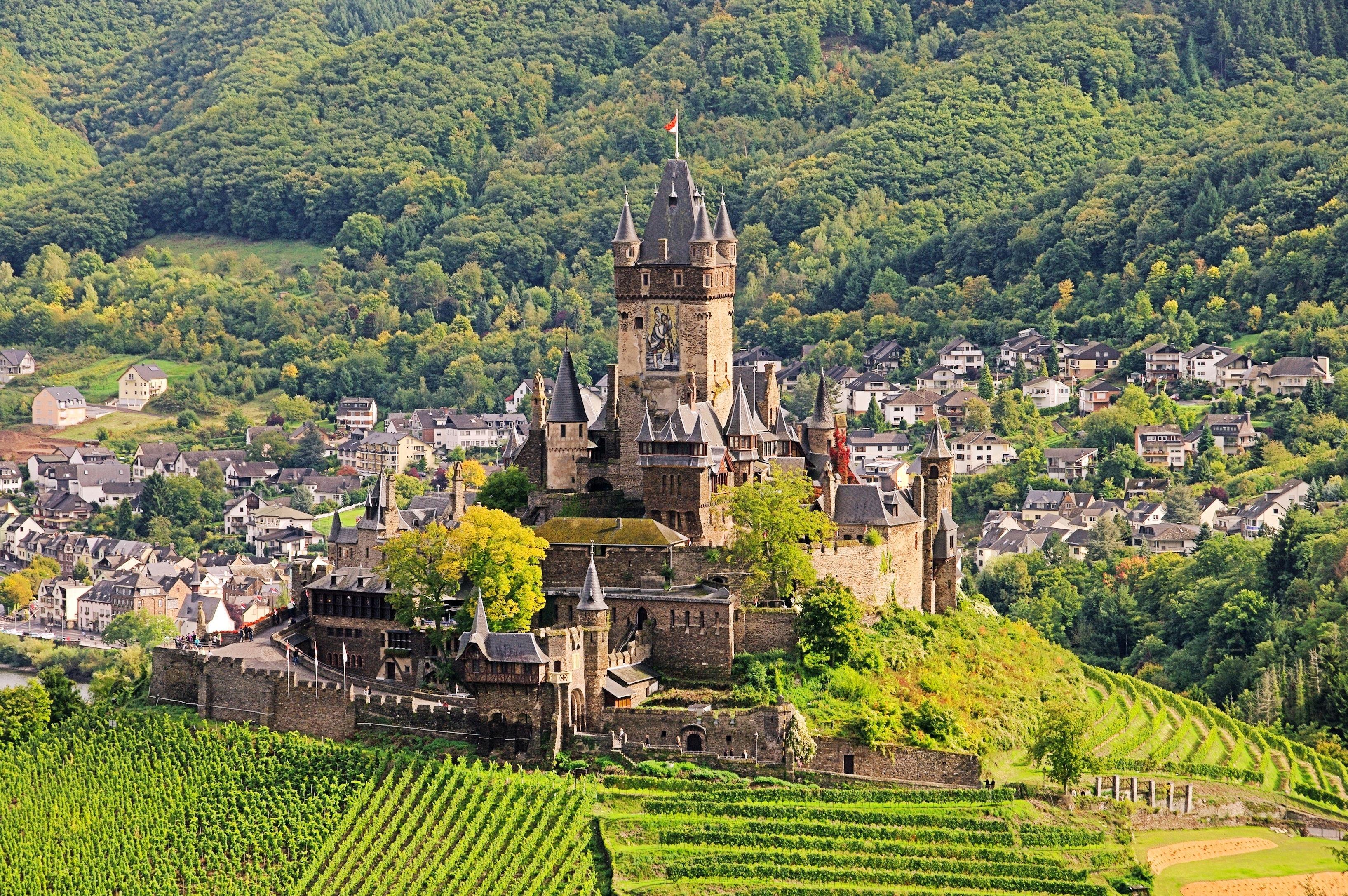 Reichsburg Cochem, Cochem, Rheinland-Pfalz, Deutschland