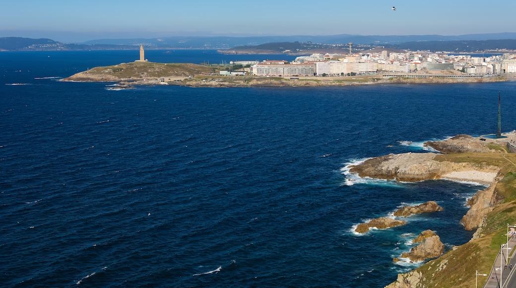Paseo marítimo de La Coruña