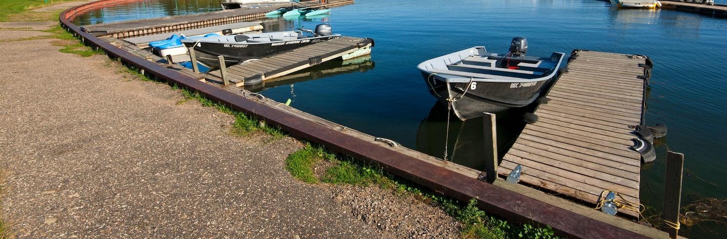 Waskesiu Lake, Saskatchewan, Canadá