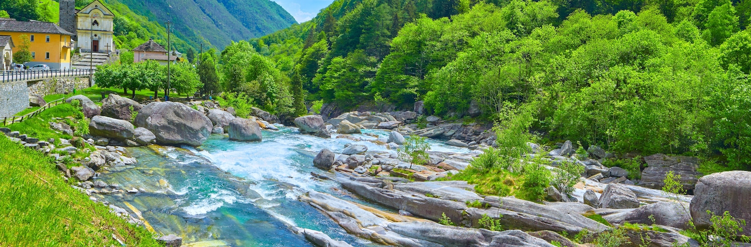 Górne Ticino, Szwajcaria