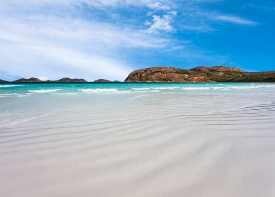 المنطقة النائية قليلة السكان من غولدن, أستراليا الغربية, أستراليا