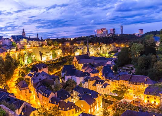 EU-negyed, Luxemburg