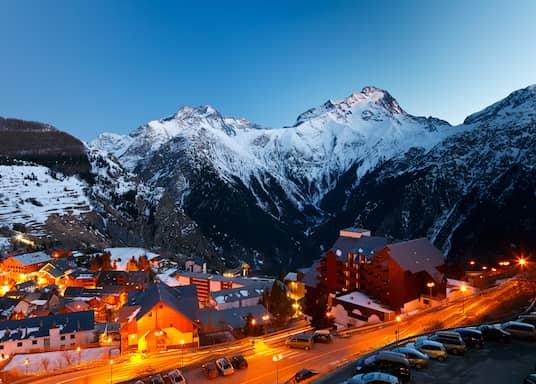 Les Deux Alpes, Frankreich