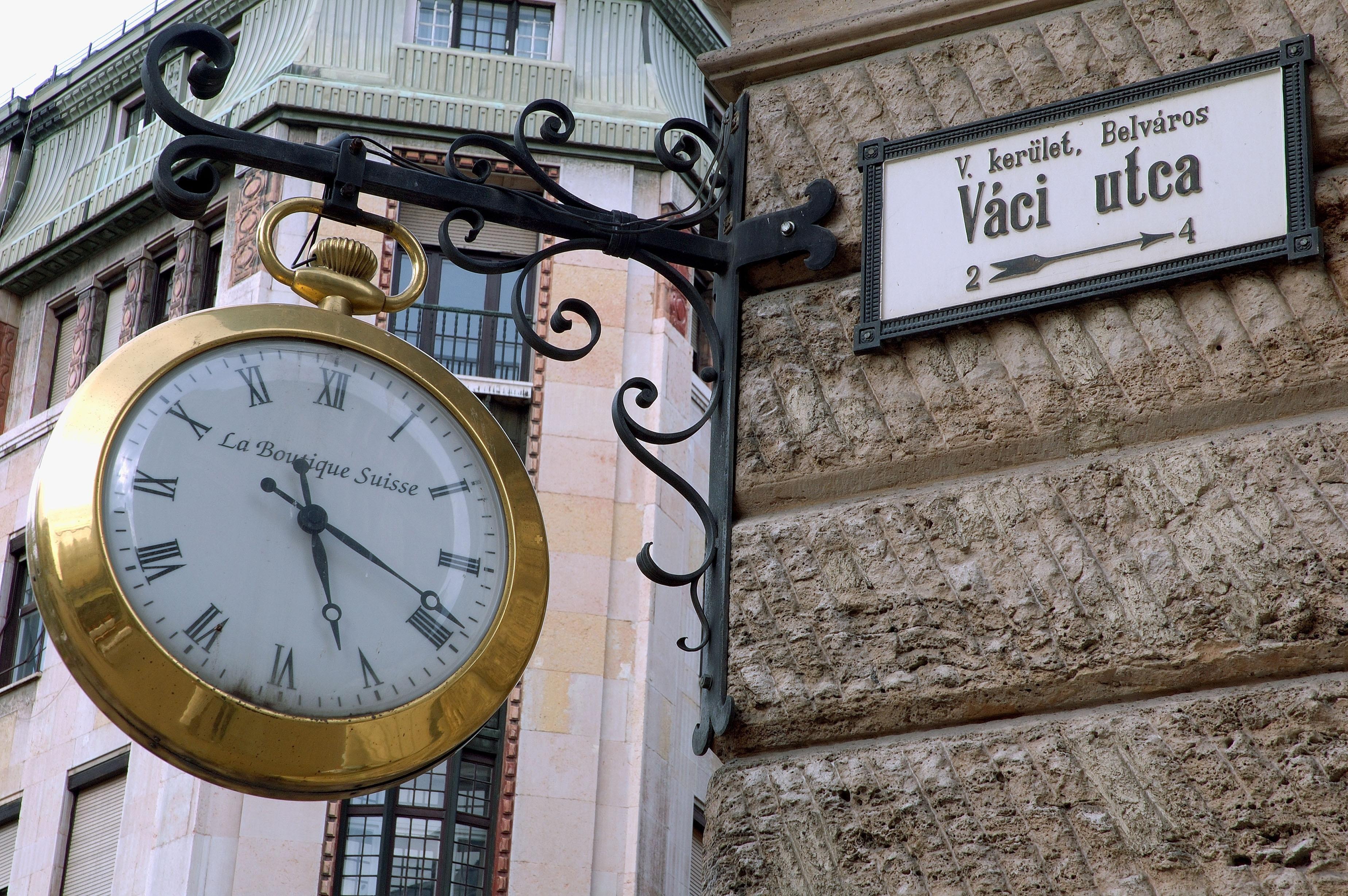 Váci Street, Budapeste, Hungria