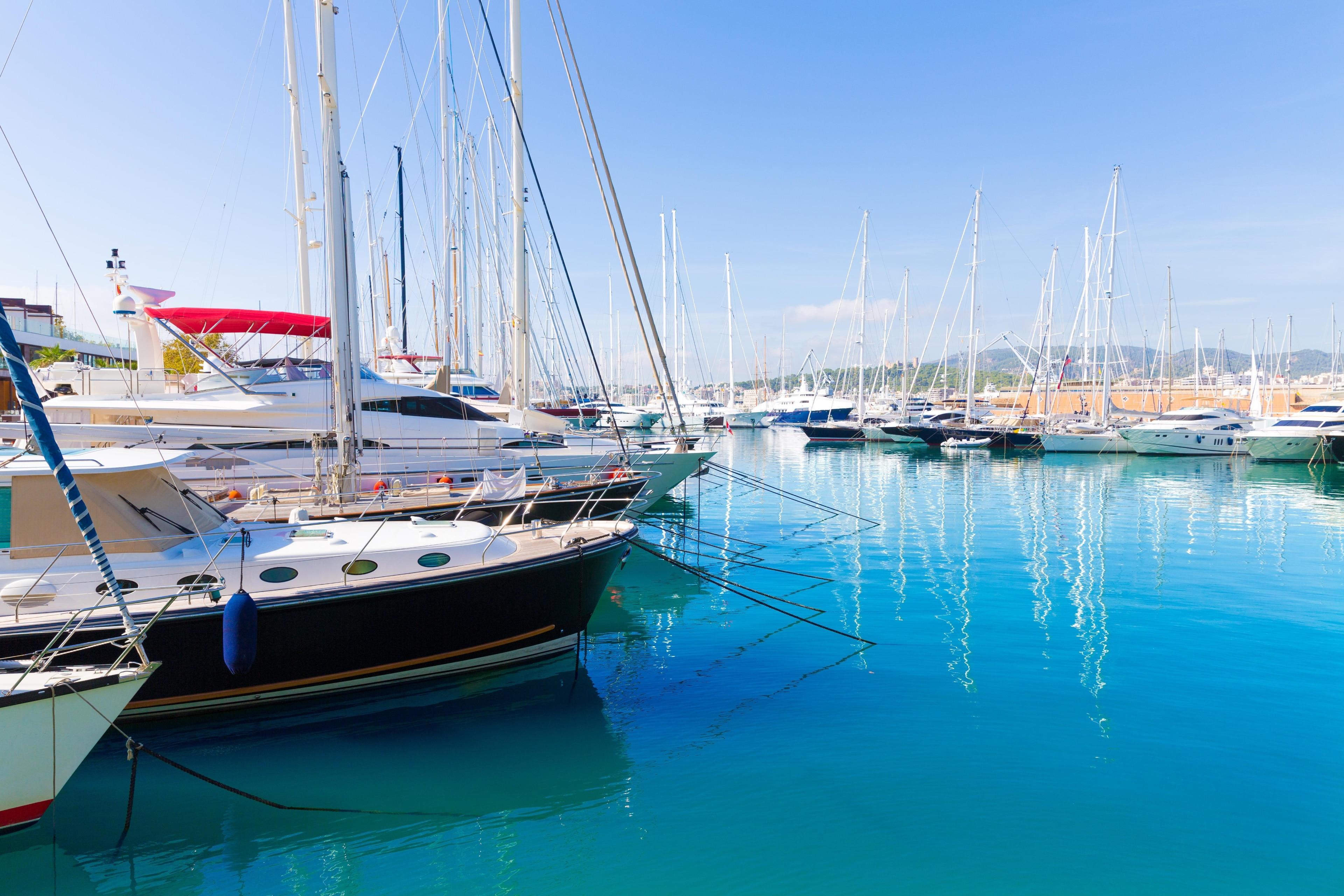 Port of Palma de Mallorca, Palma de Mallorca, Balearic Islands, Spain
