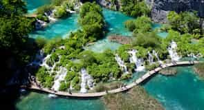 อุทยานแห่งชาติ Plitvicka Jezera
