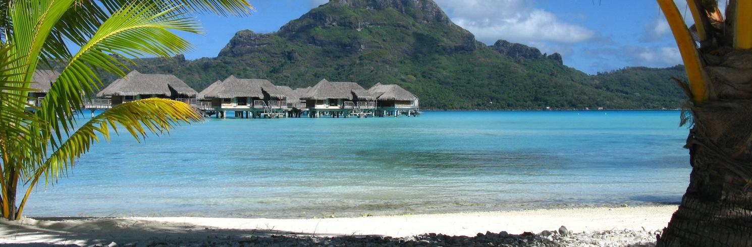 Bora Bora, Prancūzijos Polinezija