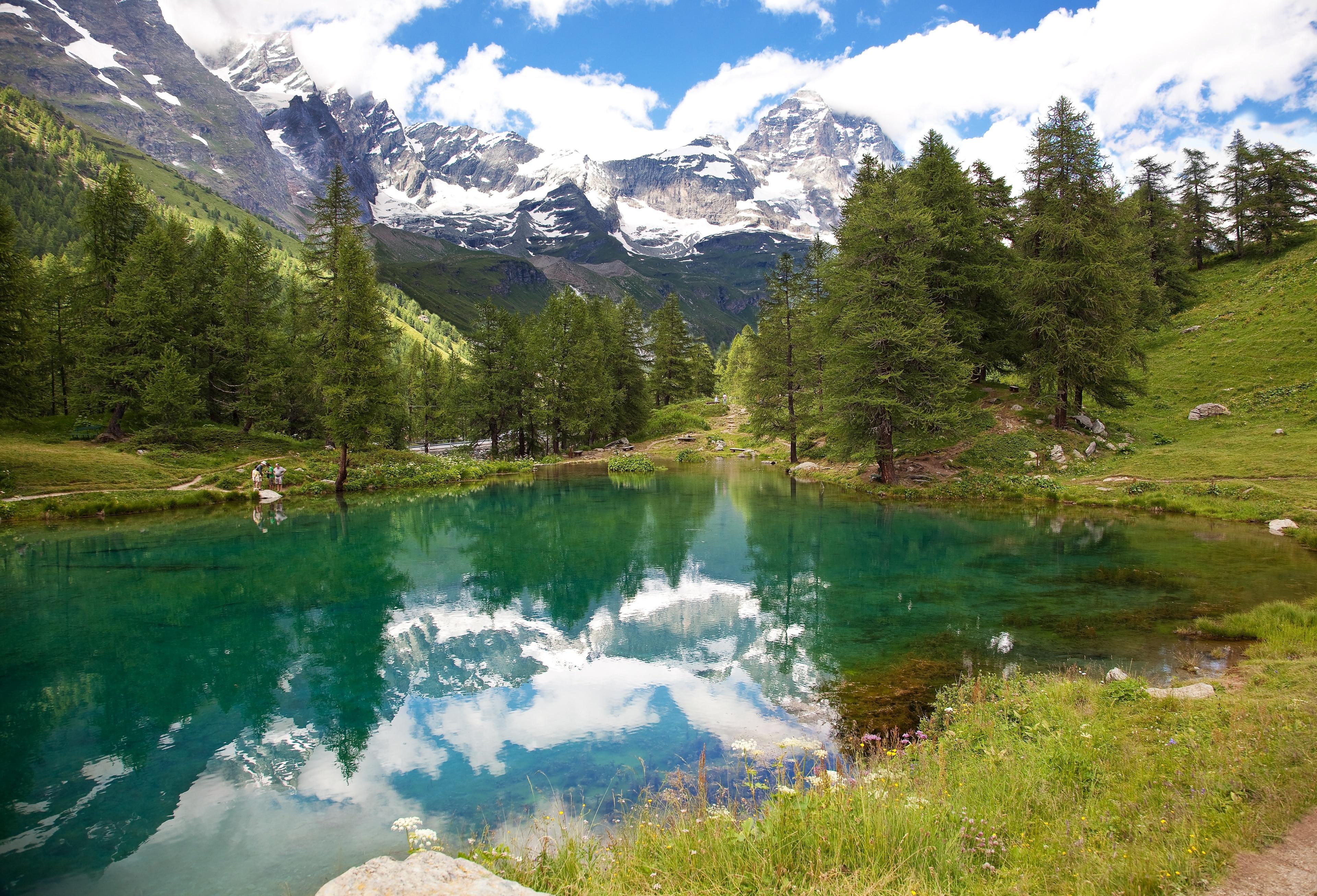 Skigebiet Breuil-Cervinia, Valtournenche, Aostatal, Italien