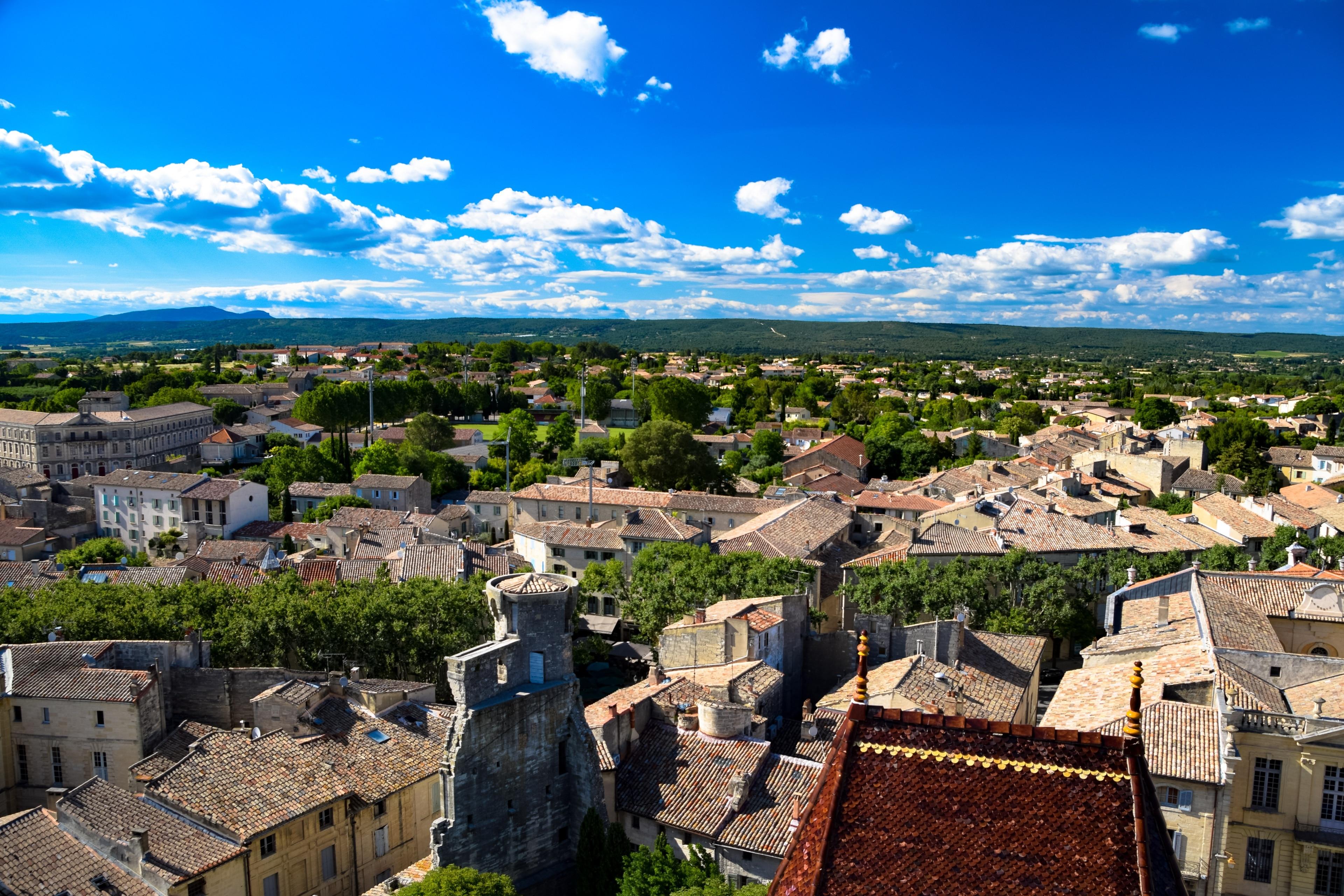 Uzes, Gard, Frankreich