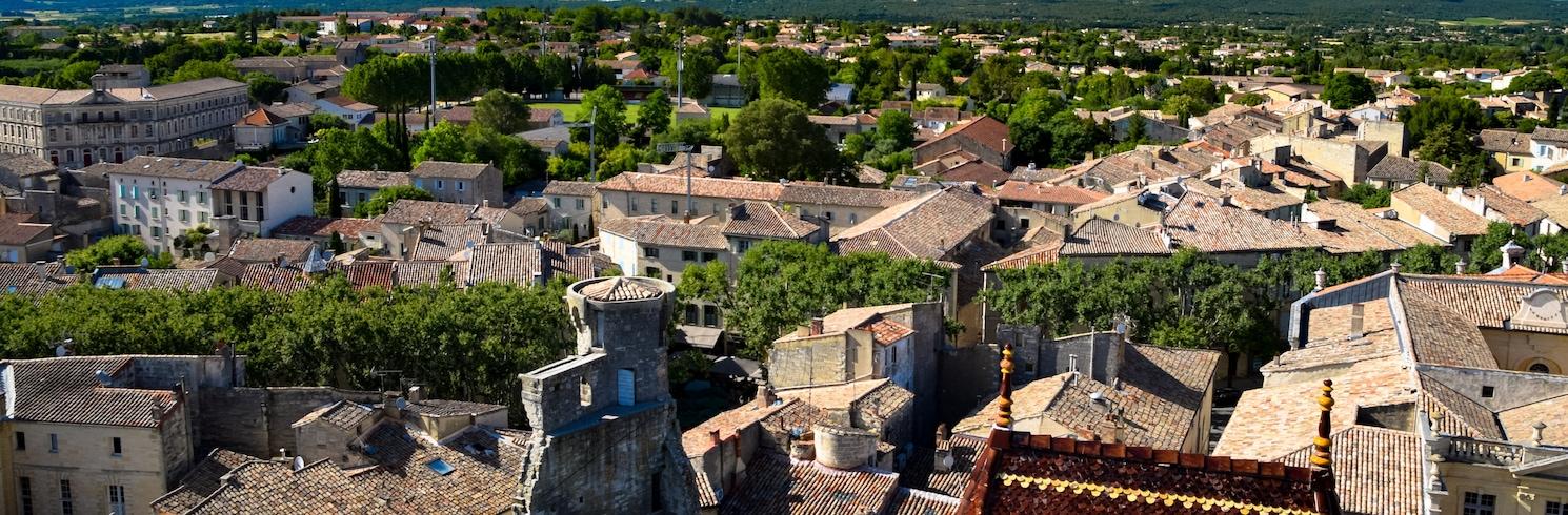 Uzes, Frankrig