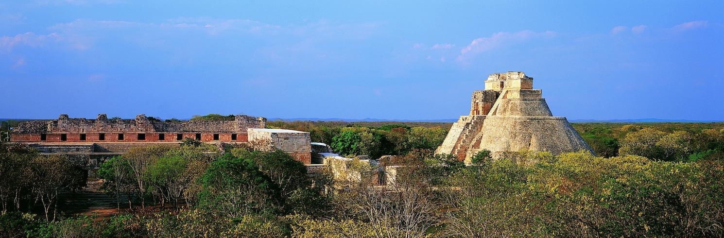 Уксмал, Мексика