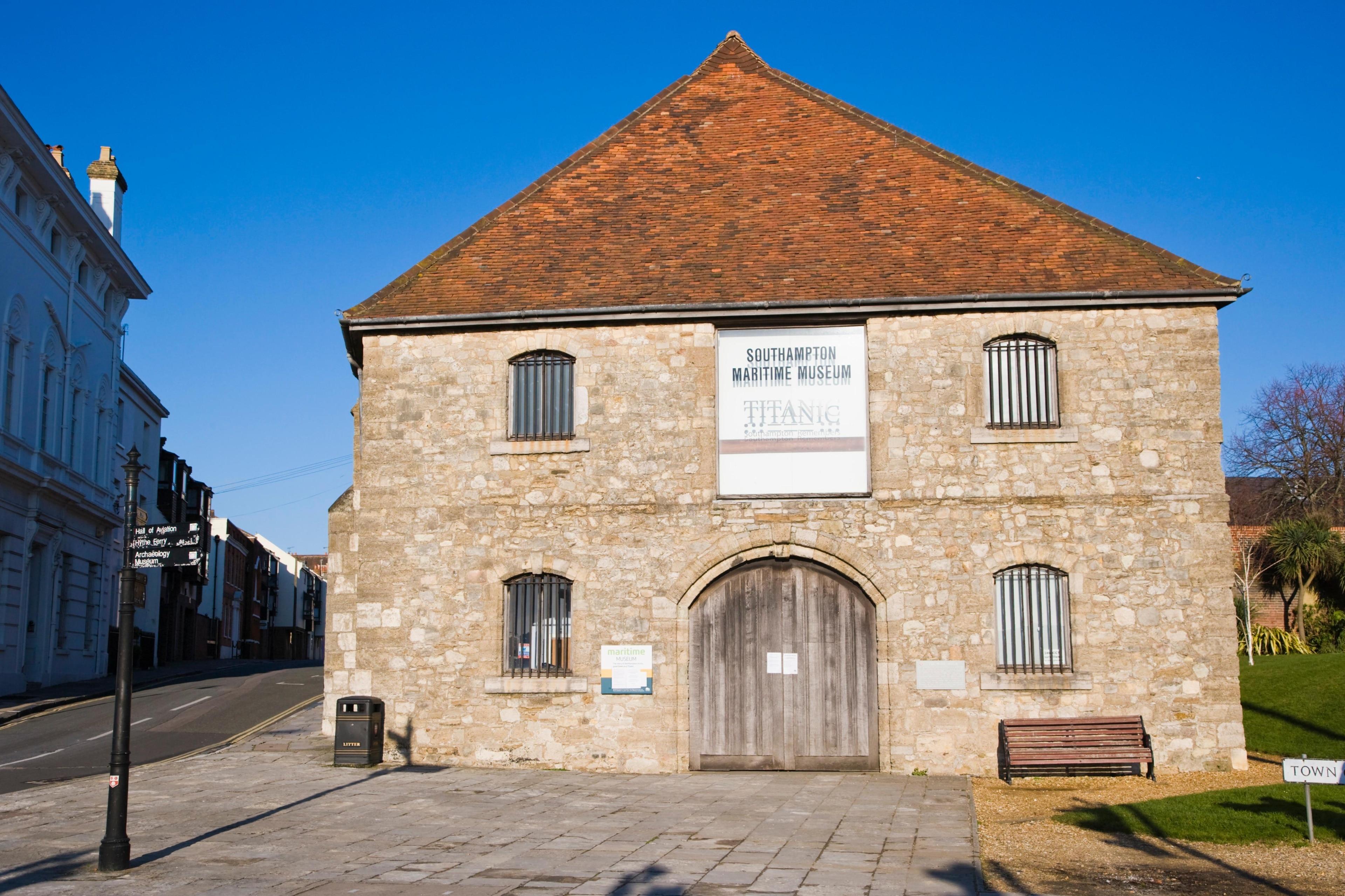 Southampton Maritime Museum, Southampton, England, United Kingdom