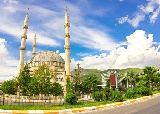 Costa de Mersin, Turquía