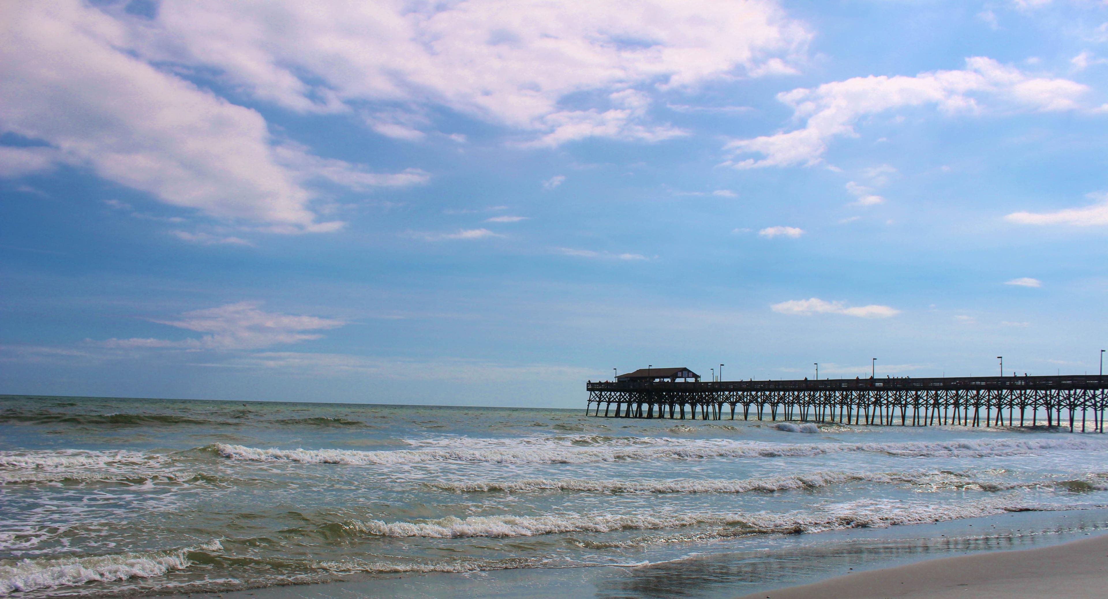 Pier at Garden City, Murrells Inlet, South Carolina, United States of America