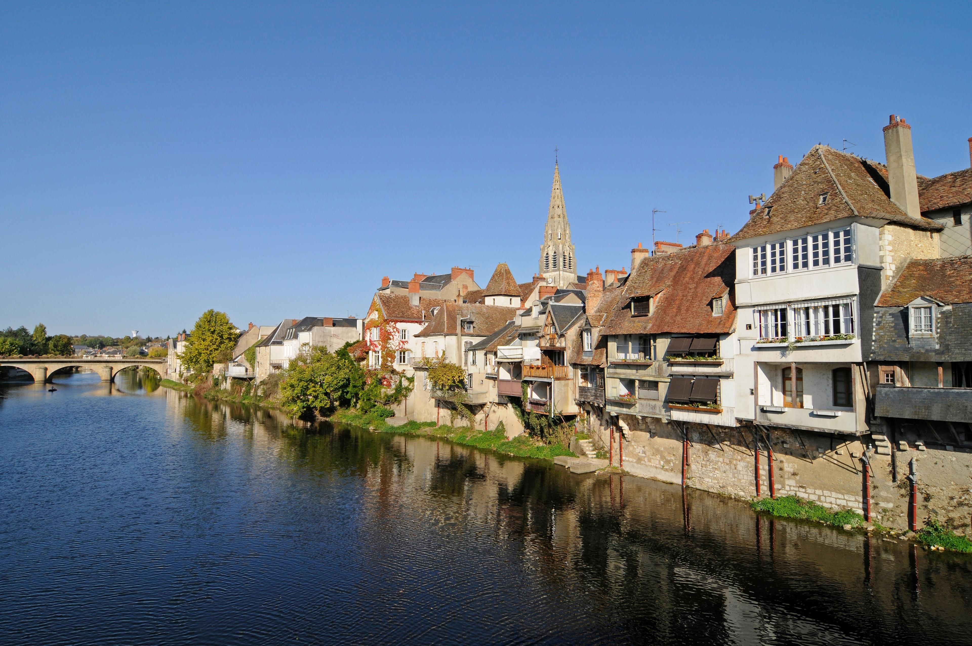 Châteauroux, Indre Département, Frankreich
