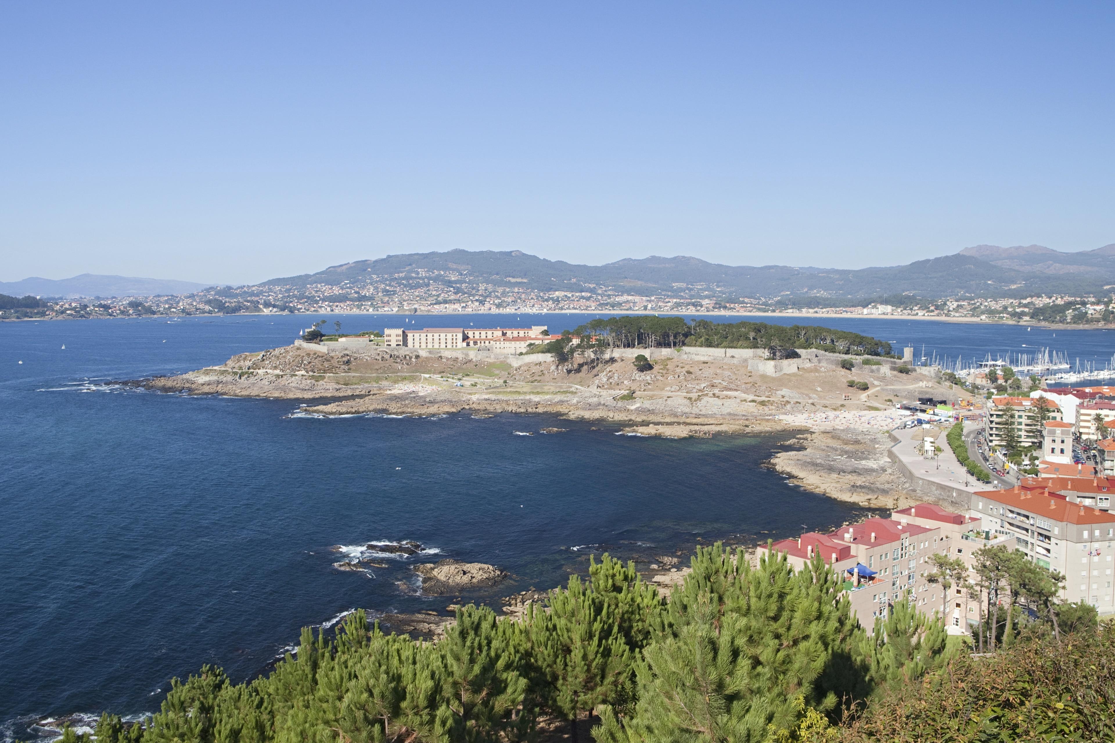 Baiona, Galicië, Spanje
