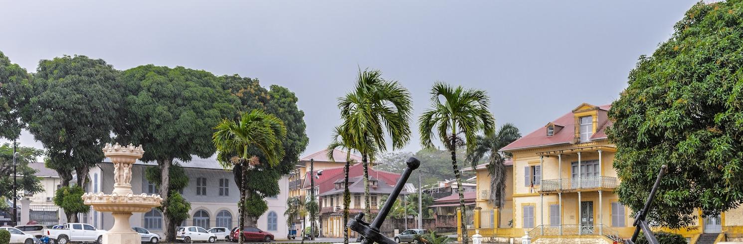 Cayenne, Französisch-Guayana