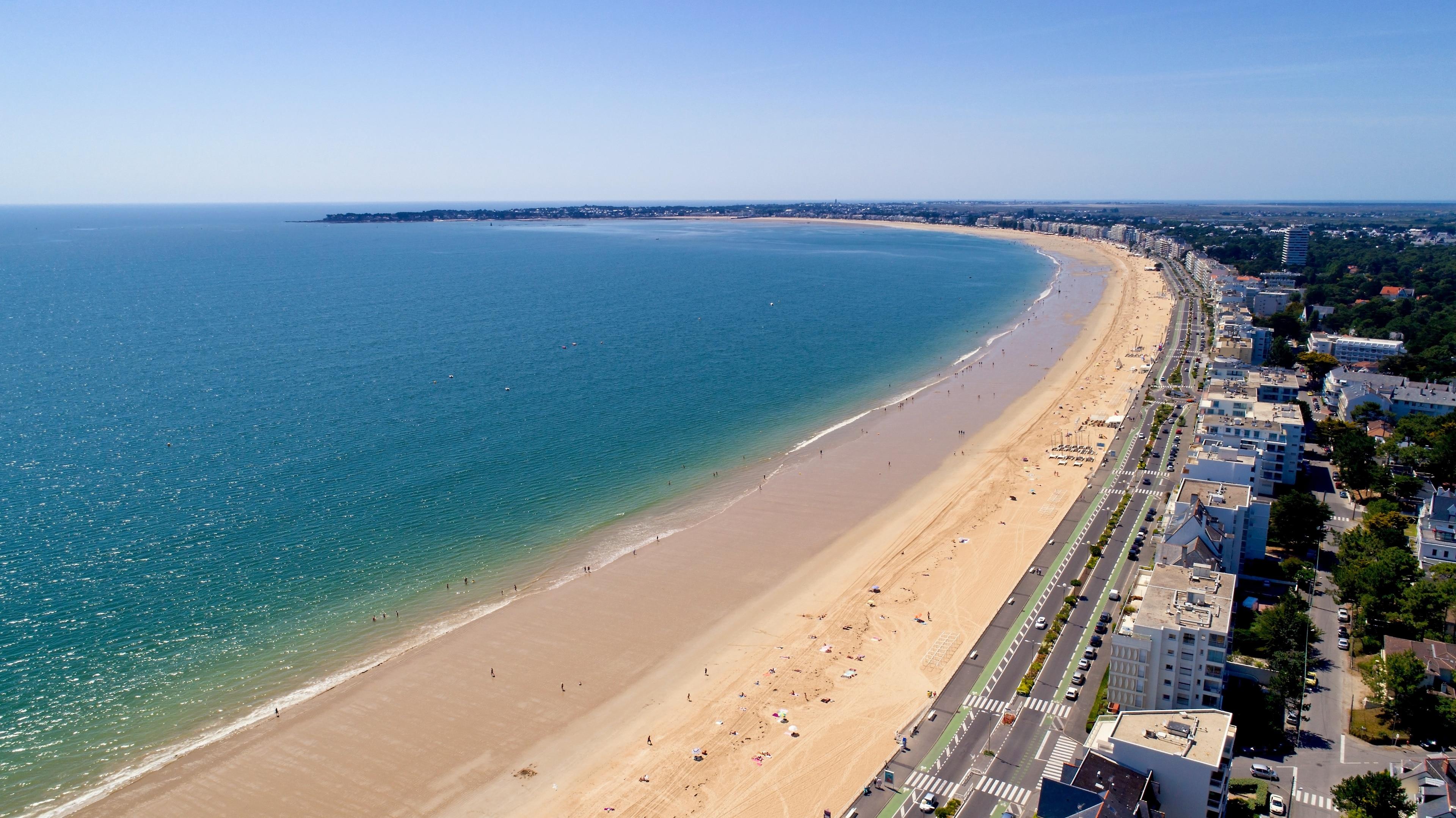 La Baule Beach, La Baule-Escoublac, Loire-Atlantique, France