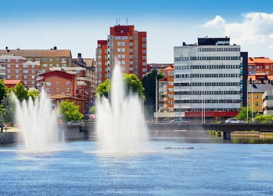 Norrkoping City Centre, Sweden