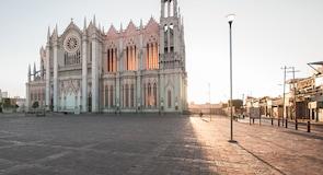 Stadtzentrum von León