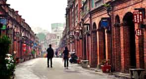 Stará ulice San-sia