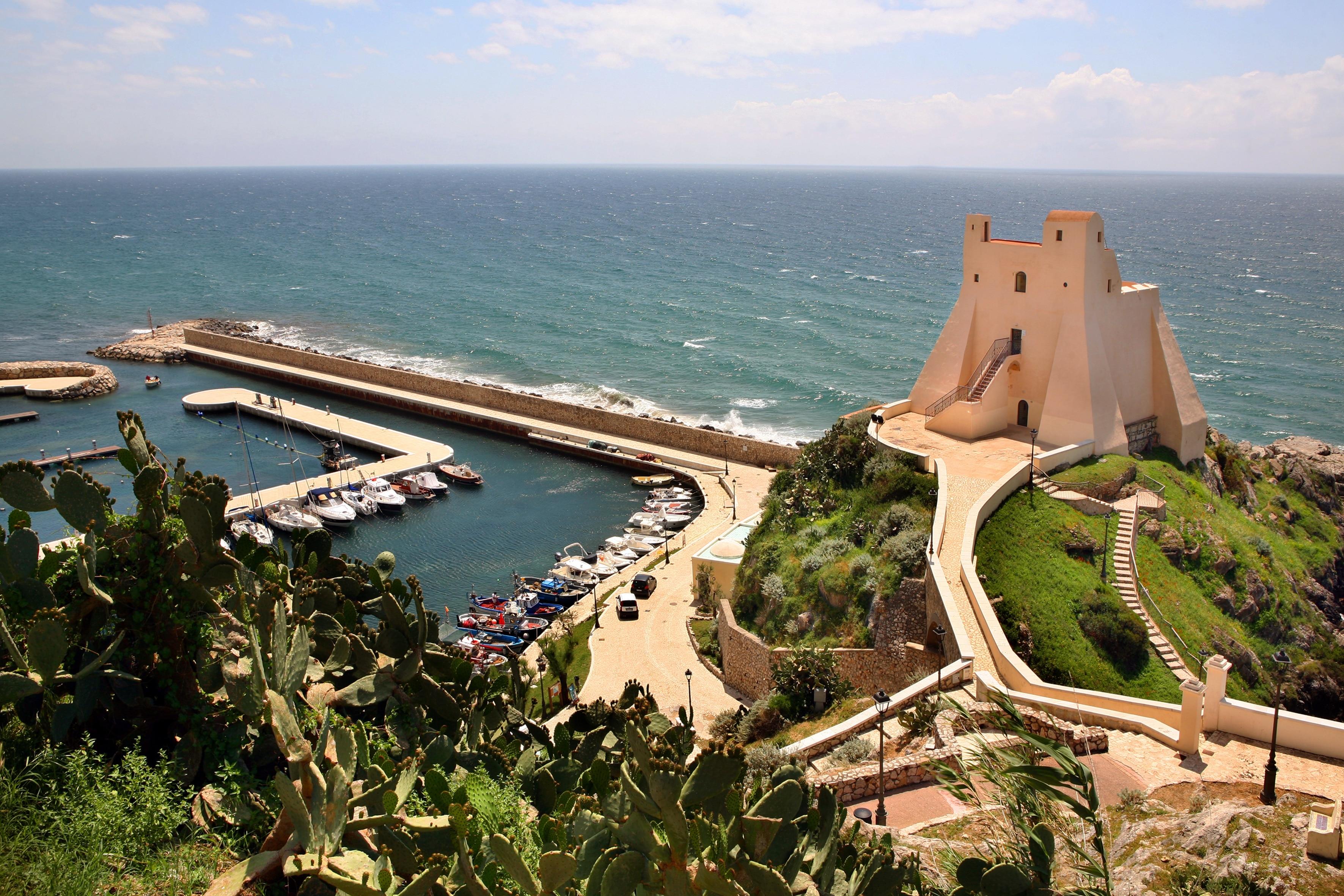 Sperlonga Port, Sperlonga, Lazio, Italy