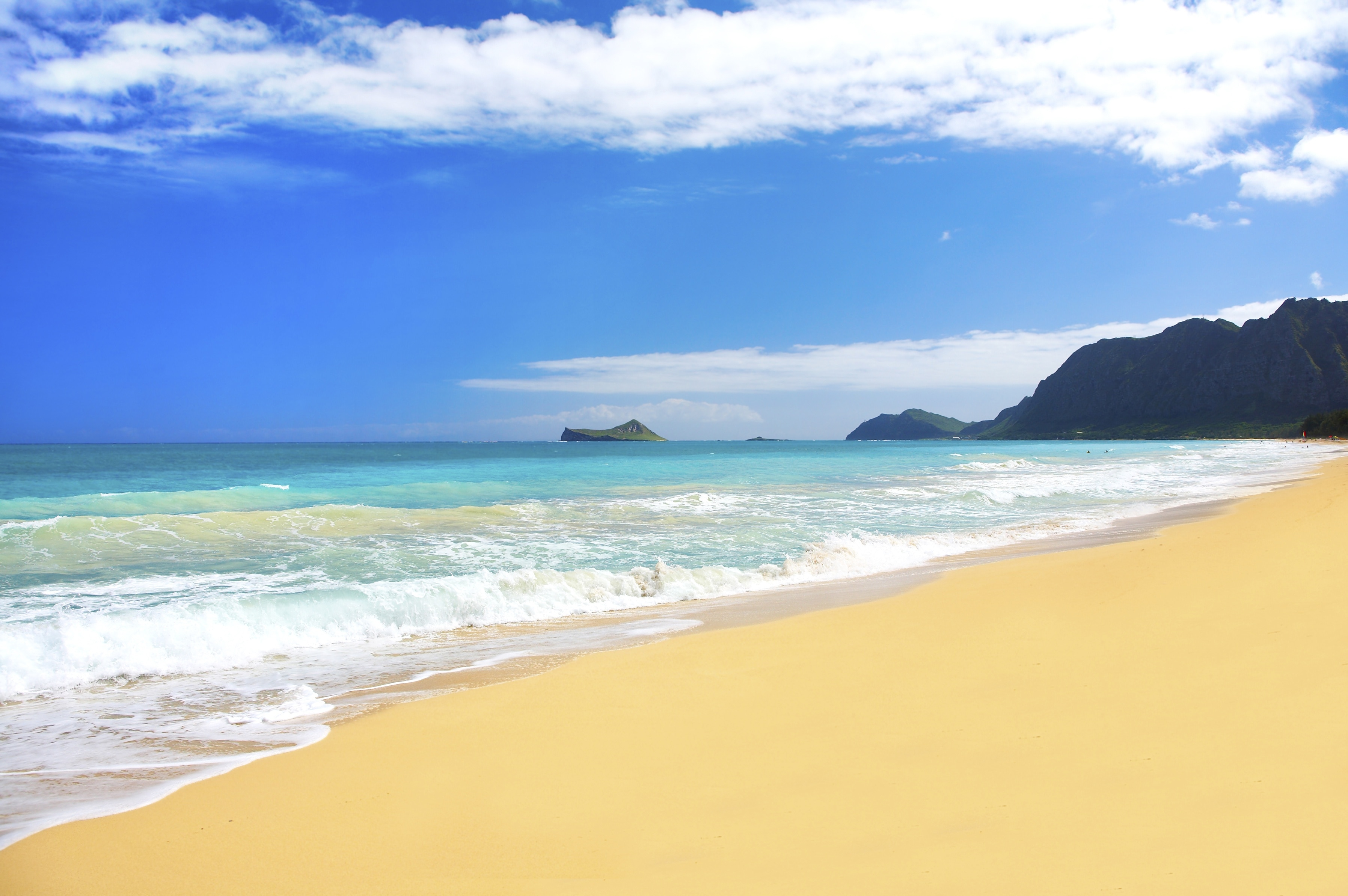 White Plains Beach, Kapolei, Hawaii, United States of America